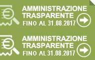 Amministrazione trasparente fino 31/08/2017