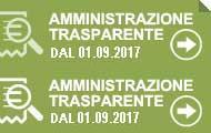 Amministrazione trasparente dal 01/09/2017